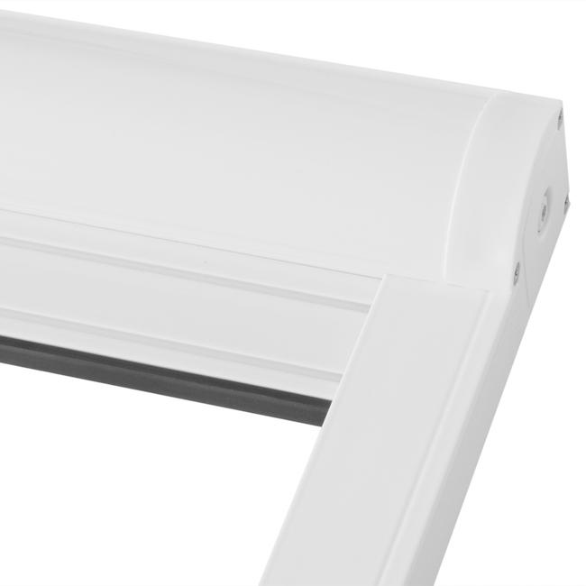 insektenschutz rollo top qualit t f r fenster und dachfenster weiss m s bauelemente. Black Bedroom Furniture Sets. Home Design Ideas