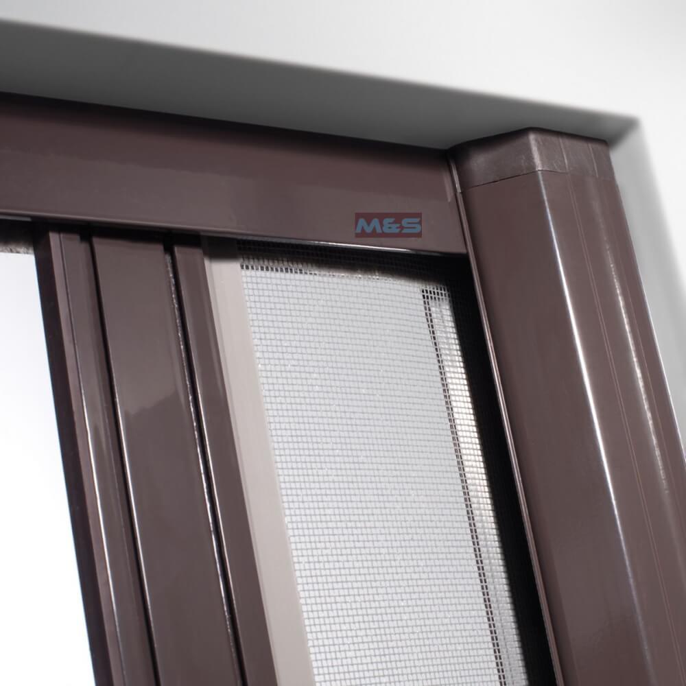 insektenschutz rollo f r terrassen und balkont ren horizontal m s bauelemente. Black Bedroom Furniture Sets. Home Design Ideas