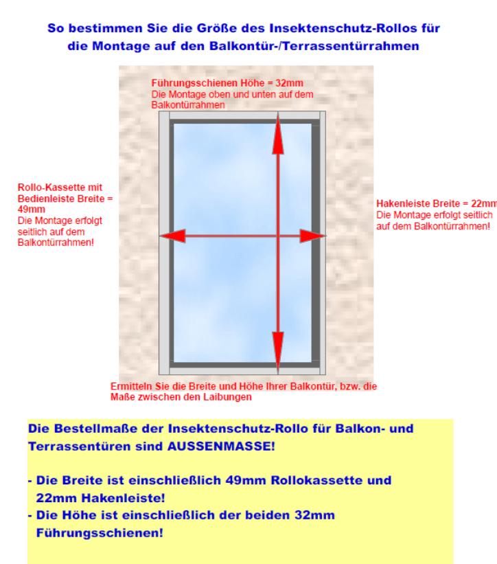 Insektenschutz Rollo Top Qualitat Fur Terrasse Und Balkon