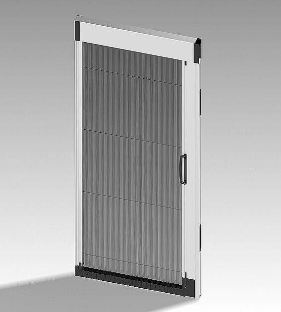 Hervorragend Insektenschutz Plissee Tür in 5 Farben für Terrasse und Balkon JR11